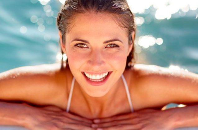 El cuidado de los dientes en verano
