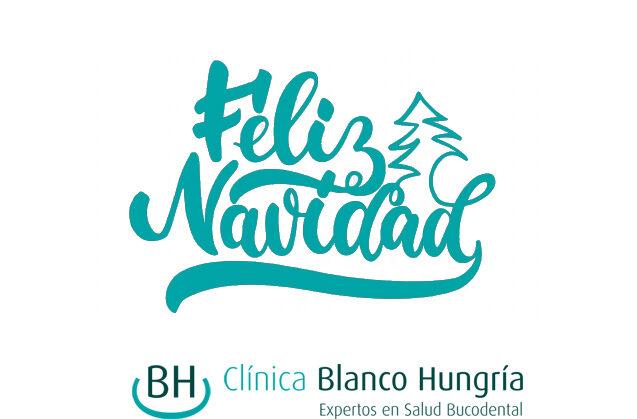 Blanco Hungría le desea Feliz Navidad